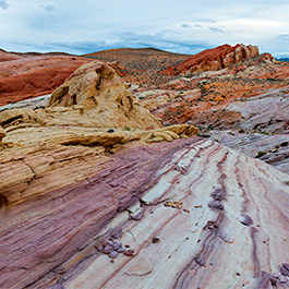 Painted Cliffs, Valley of Fire, NV