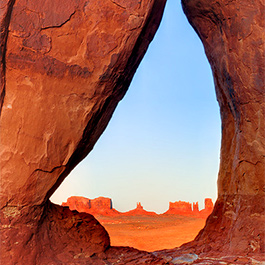 Tear Drop Arch, Monument Valley Tribal Park, AZ